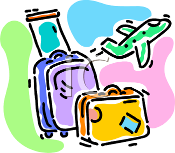 Going On Holiday Clipart