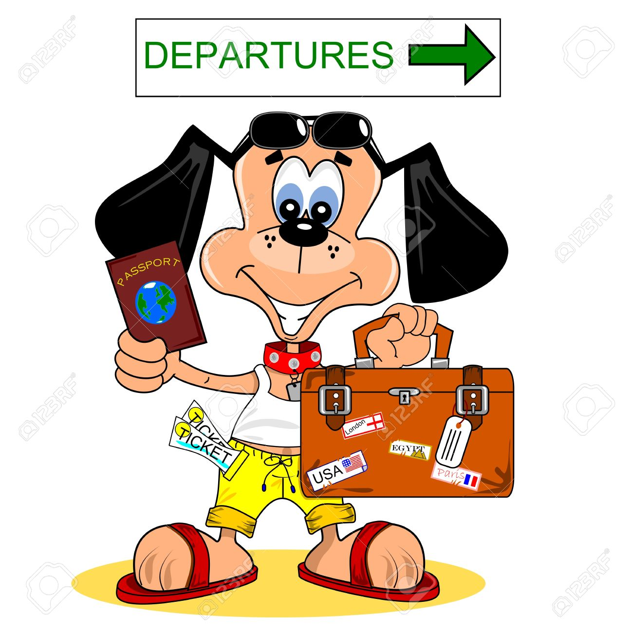 1300x1300 Departure Clipart Foreign