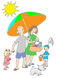 185x254 Family Holiday Clipart