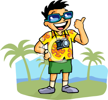 350x324 Going On Vacation Clipart