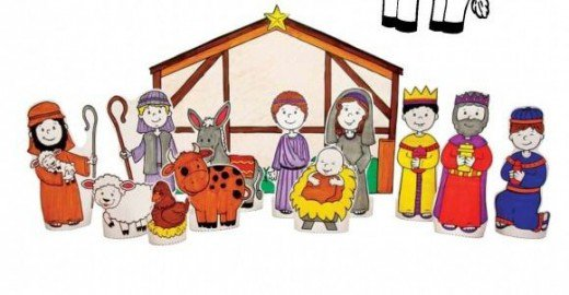 520x270 40 Beautiful Nativity Craft Ideas Feltmagnet