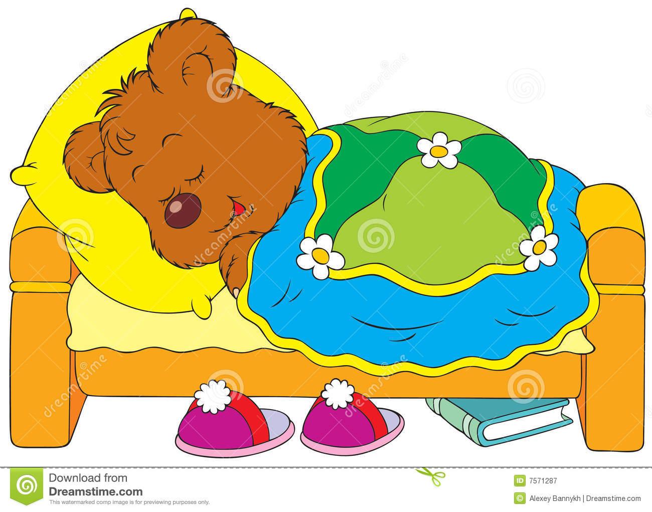 1300x1021 Children Sleeping In Bed Clipart