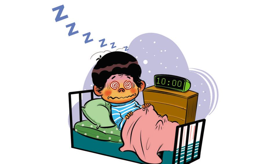 960x565 Parents Take Note Indian Toddlers Don'T Sleep Tight Mumbai News