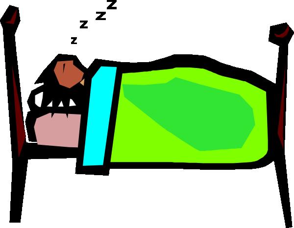 600x466 Person Sleeping Clip Art Clipart Panda