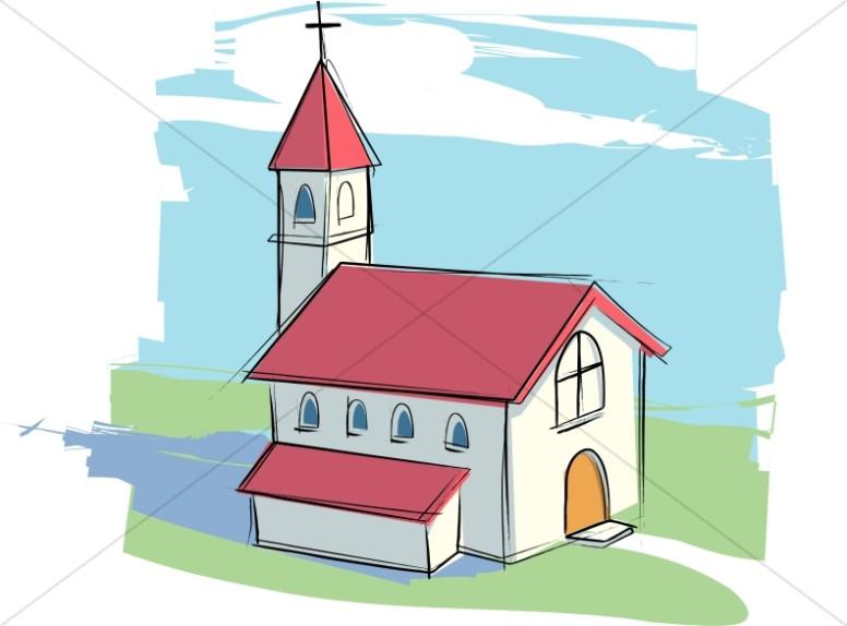 776x574 Cartoon Church Clip Art 101 Clip Art