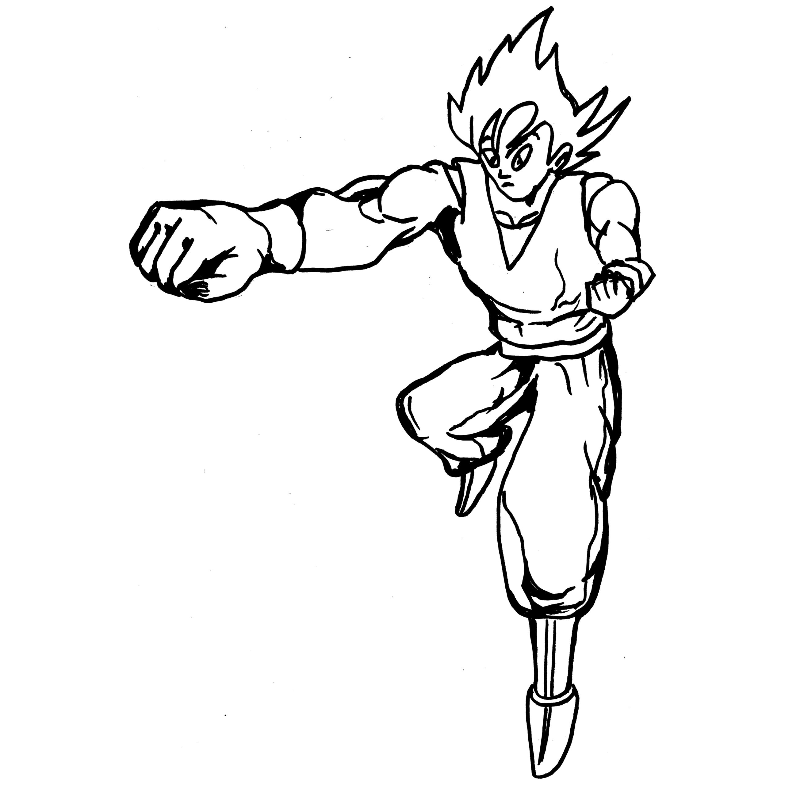 Goku Coloring Pages | Free download best Goku Coloring Pages ...