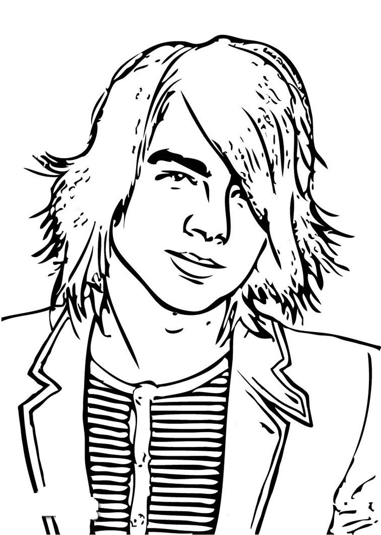 756x1060 Hannah Montana Coloring Pages