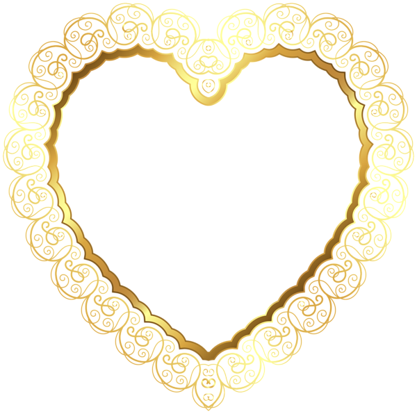 600x596 Heart Border Transparent Png Clip Art Backgrounds Toppers