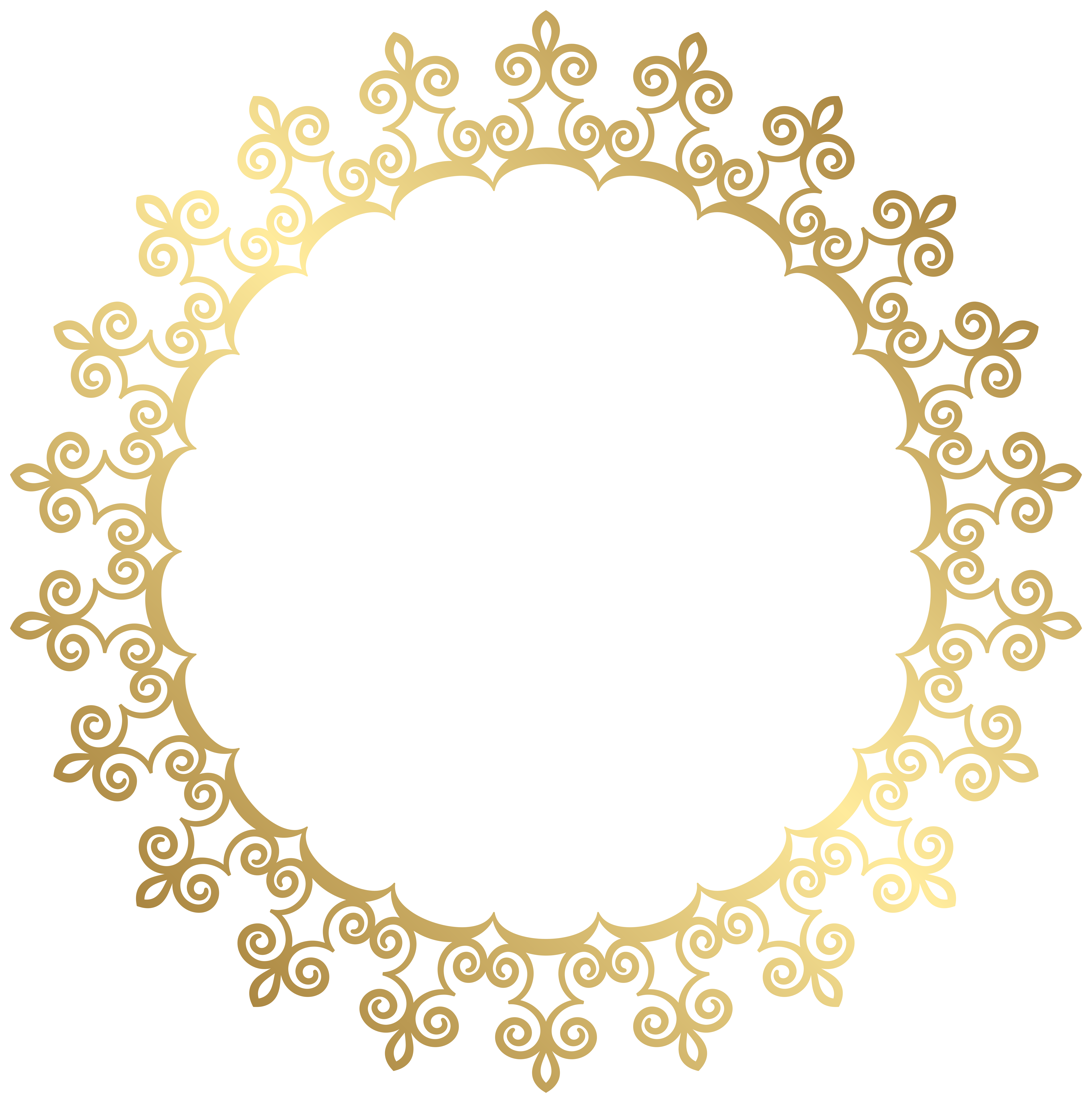 Gold Border Clipart   Free download on ClipArtMag
