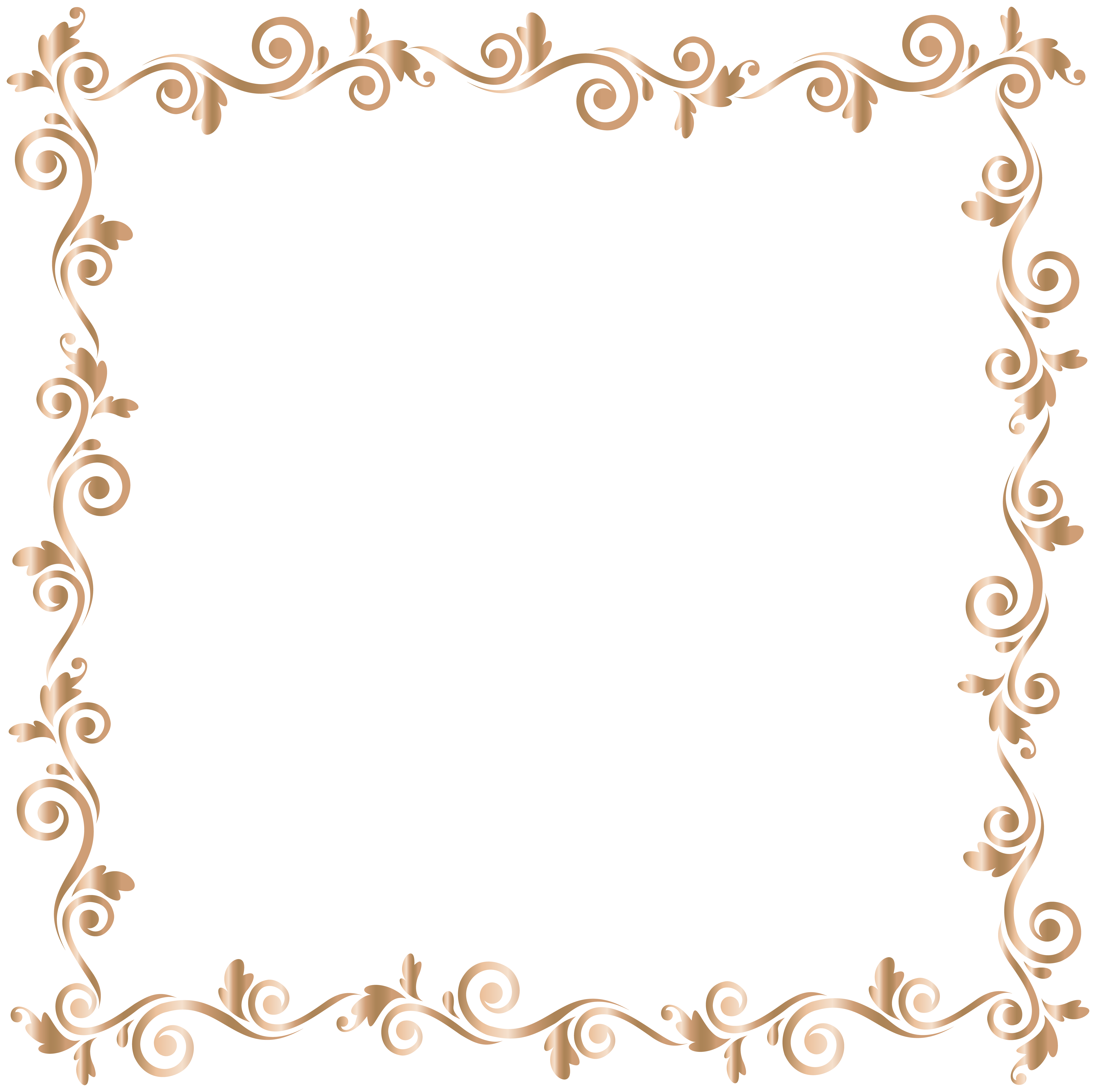 8000x7970 Border Frame Gold Png Clip Art Imageu200b Gallery Yopriceville