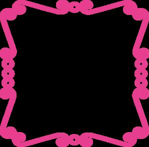 298x294 Pink Chevron Clipart