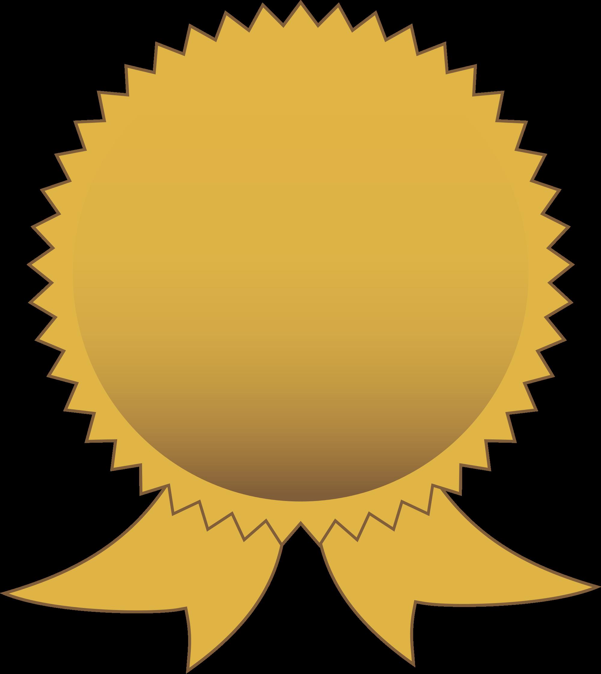 2000x2244 Gold Certificate Seal Clip Art