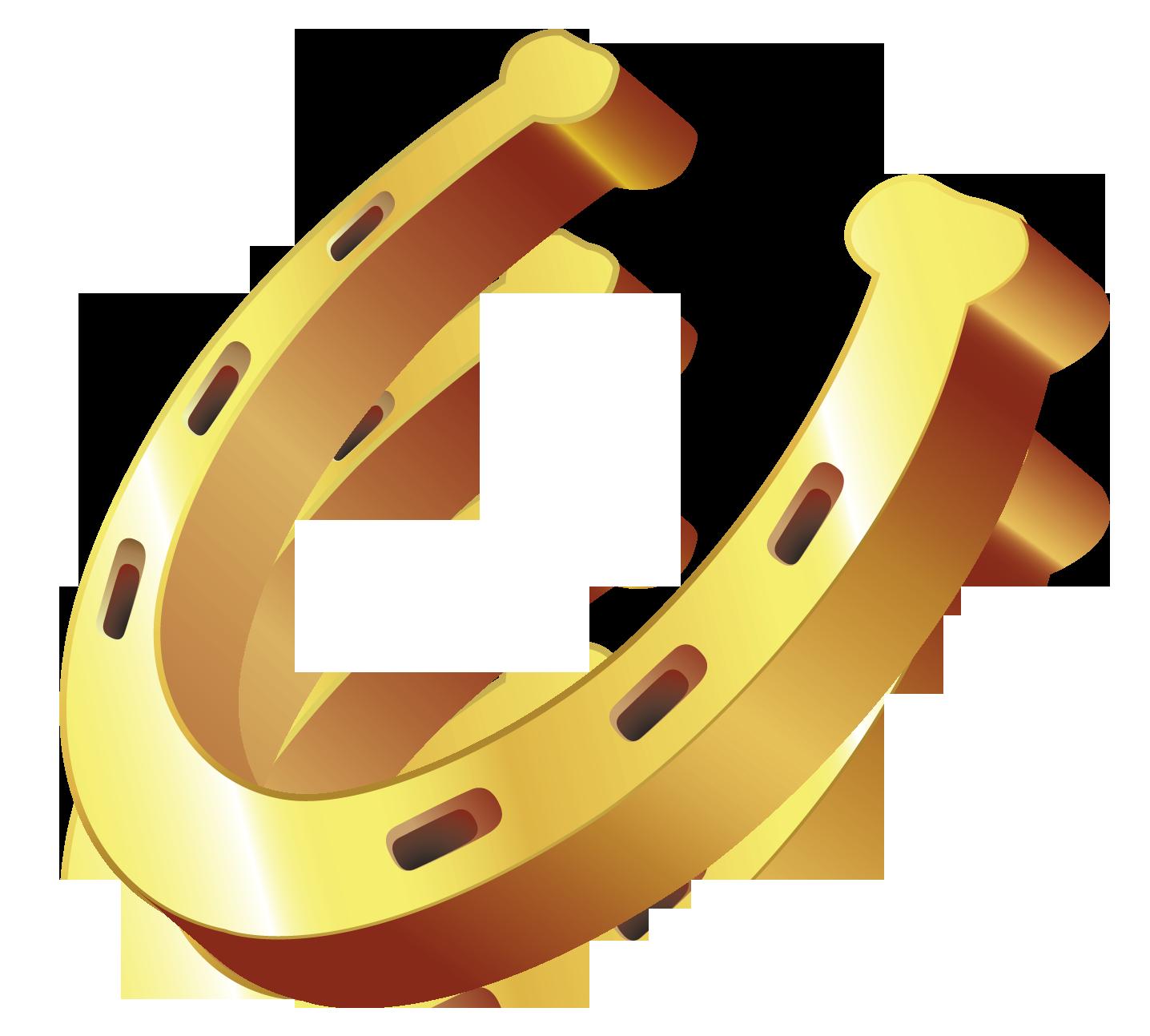 1436x1293 Gold Horseshoe Clipart