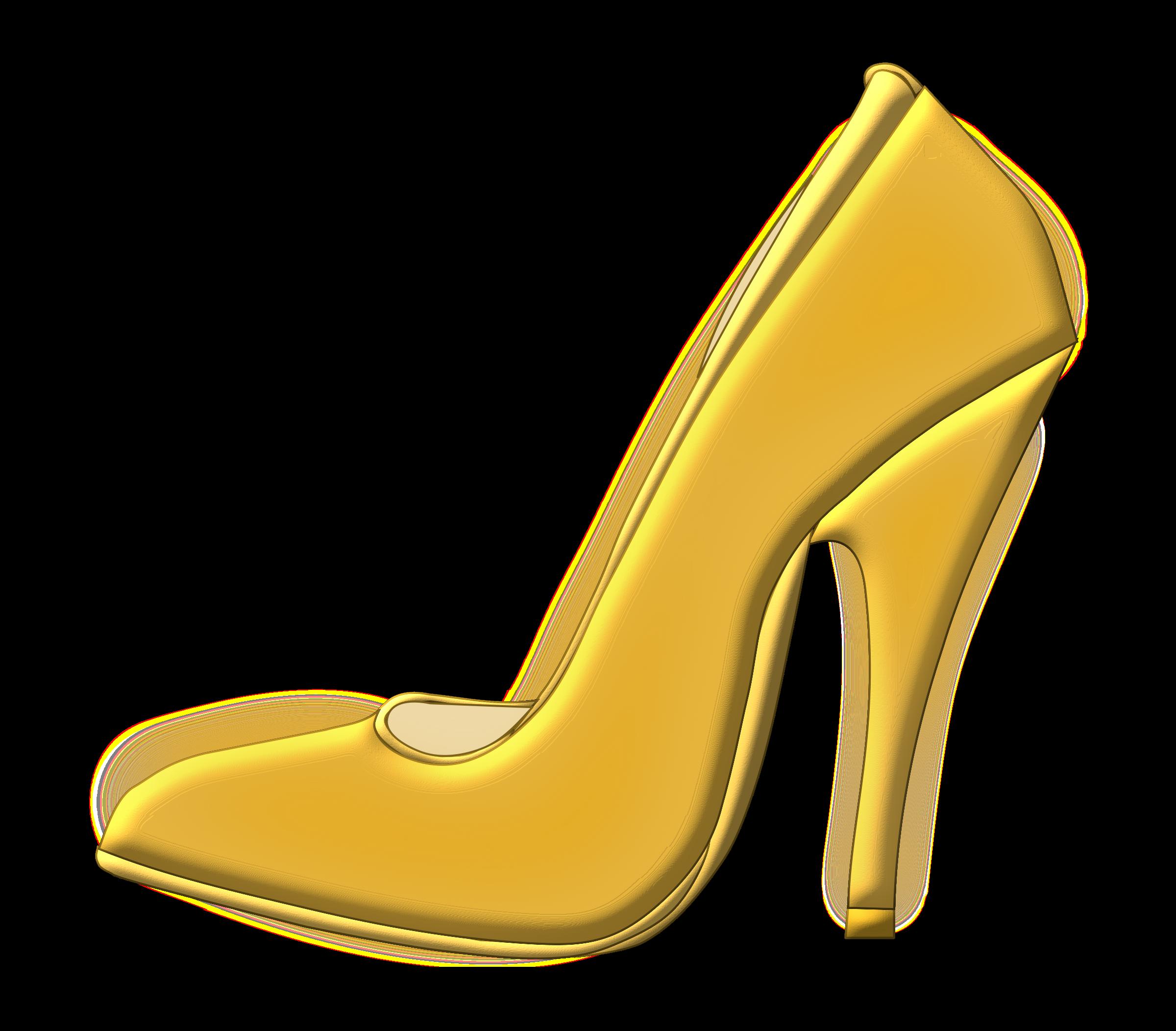 2400x2104 Golden Shoes Clipart, Explore Pictures