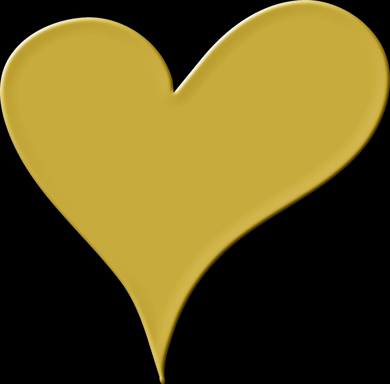 2372x2334 Heart Clipart Gold