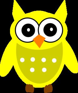 249x298 Yellow Gold Owl Clip Art