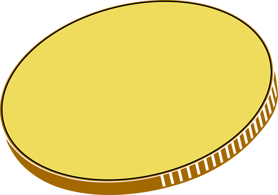 960x675 Gold Coin Clipart Png