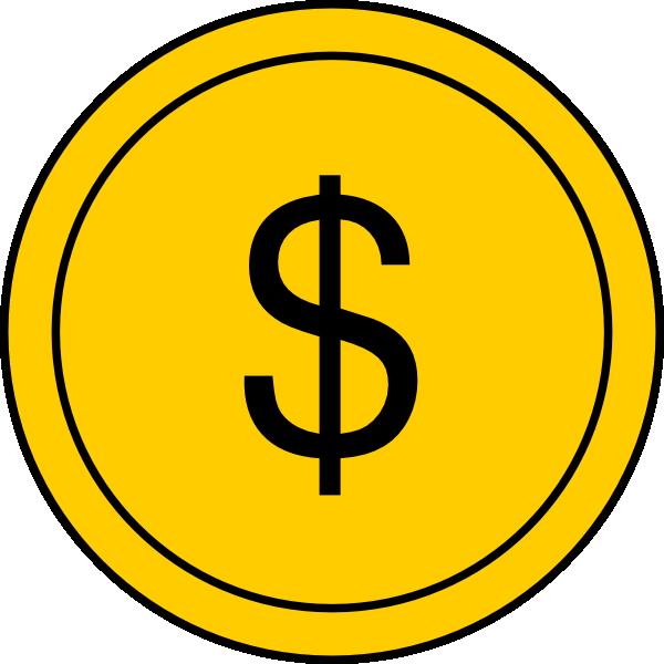 600x600 Coin 1 Clip Art