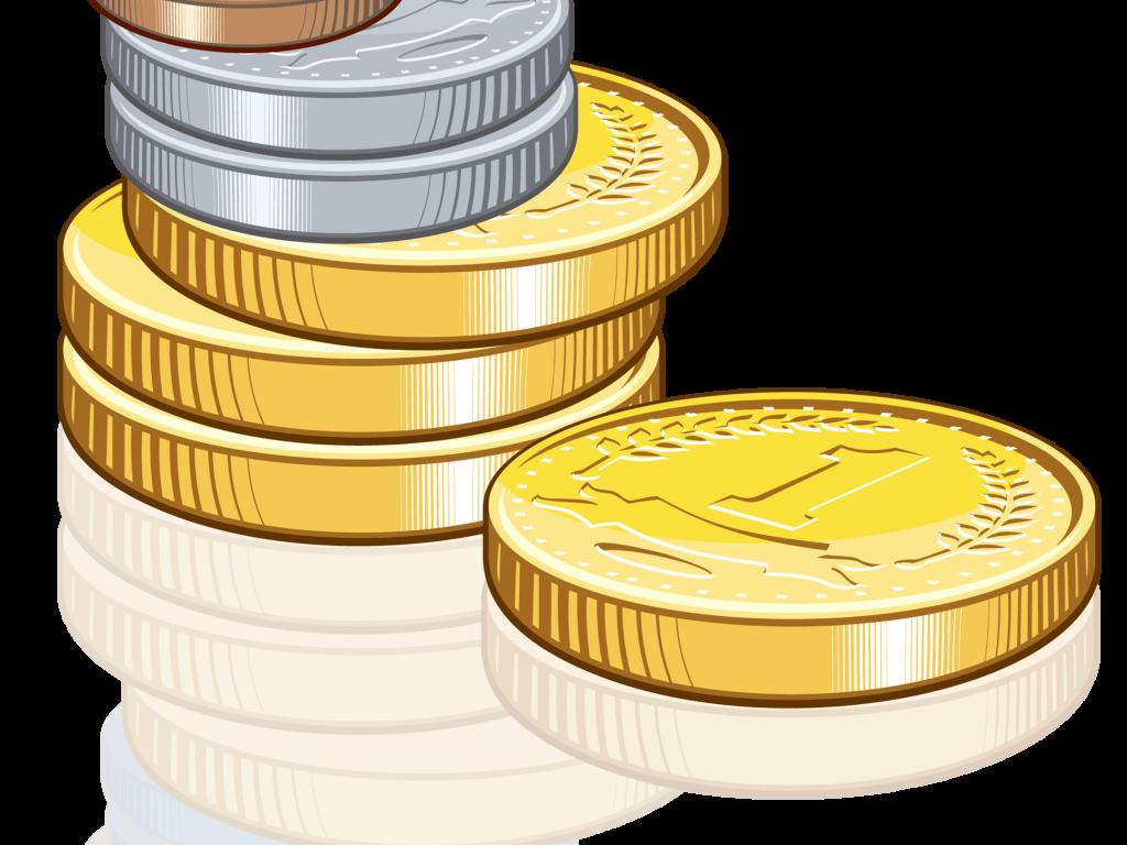 1024x768 Cozy Coin Clip Art Clipart Coins 2 Clipartandscrap