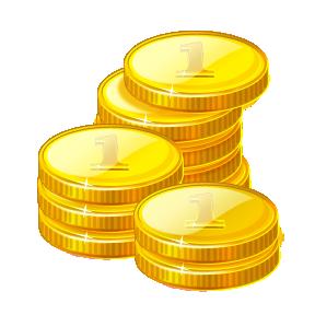 288x288 Cash Clipart Gold Coin