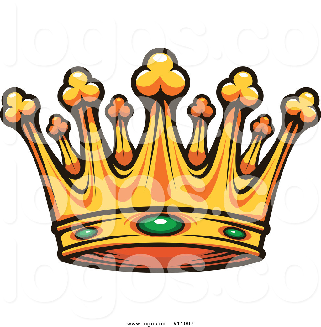1024x1044 Royalty Free Clip Art Vector Gold Crown With Emeralds Logo By