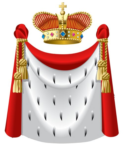 506x600 Gold Crown King Clipart