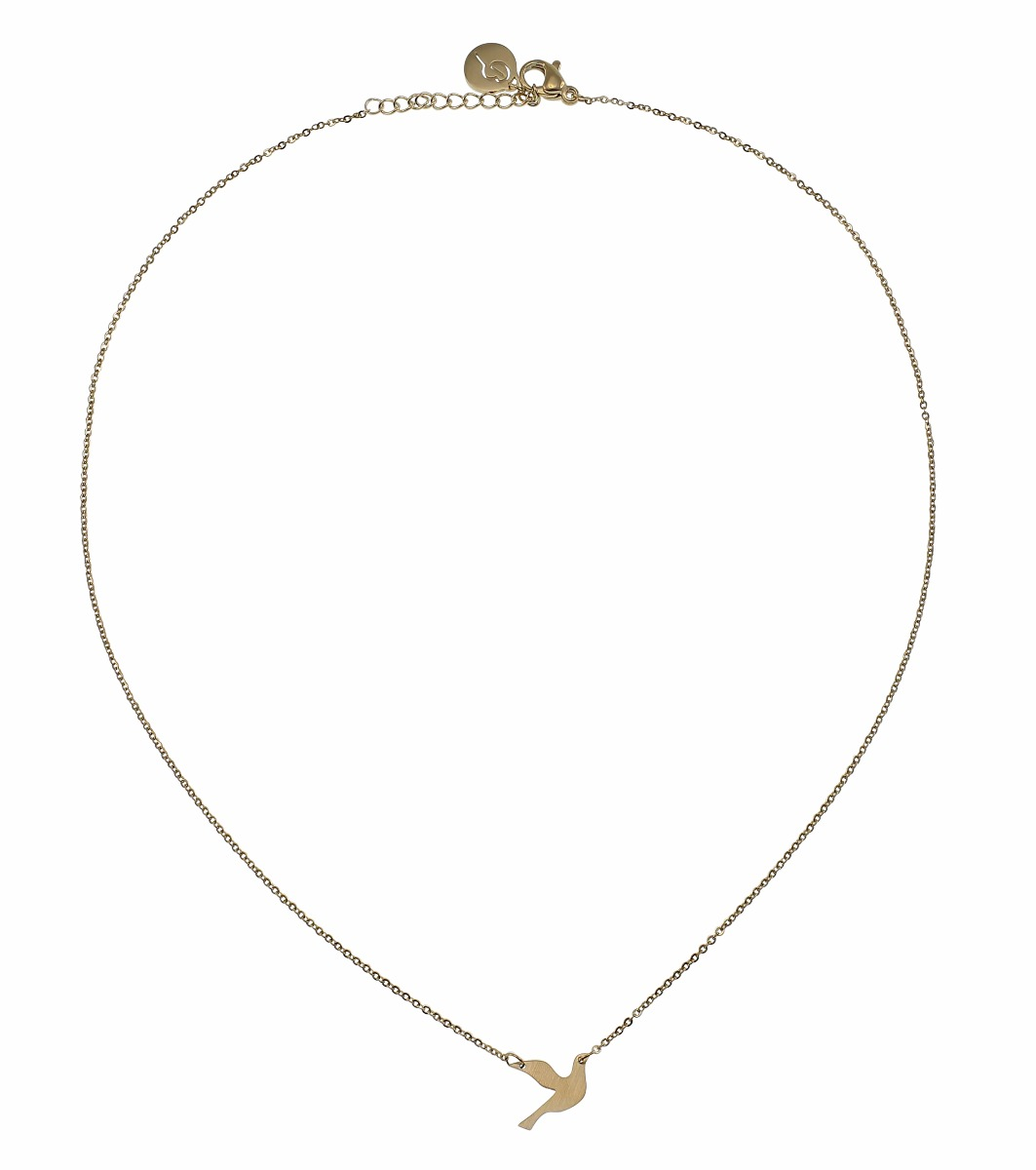 1063x1200 Dove Necklace Small Gold
