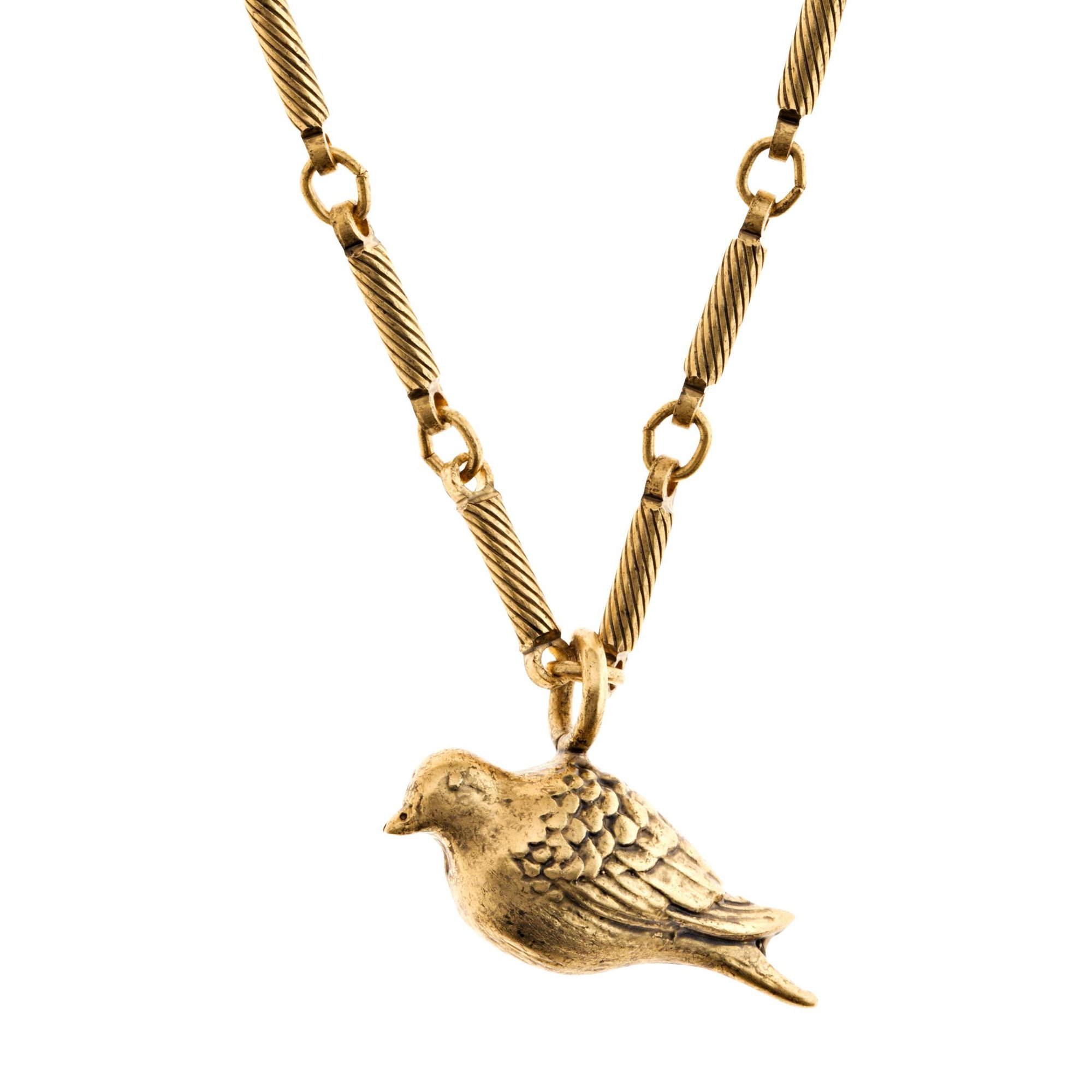 2000x2000 Peace Dove Pendant Necklace In Gold Finish Orchard Jewelry