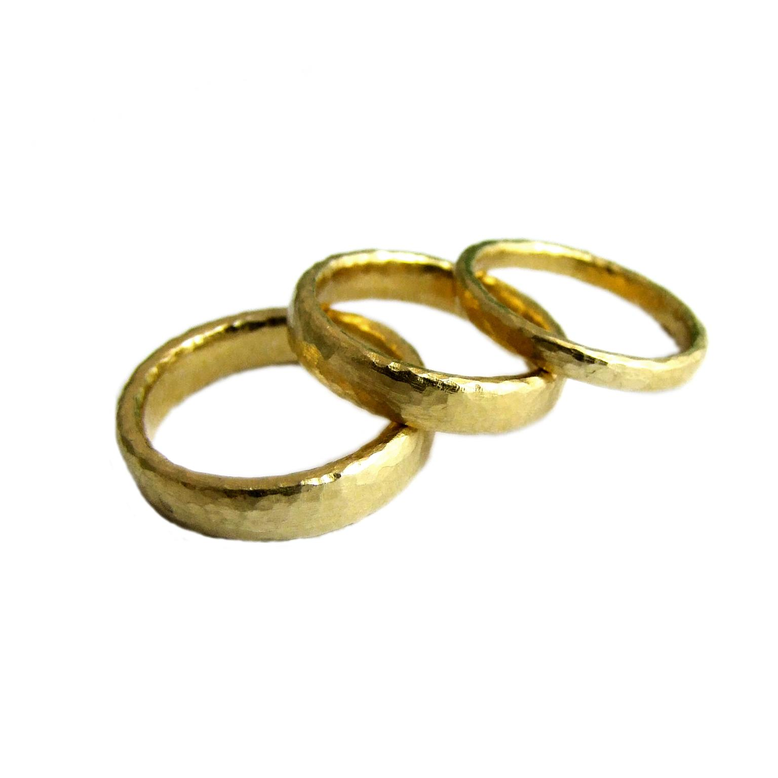 1536x1536 Bridal Trend Yellow Gold Wedding Bands The Jewellery Editor