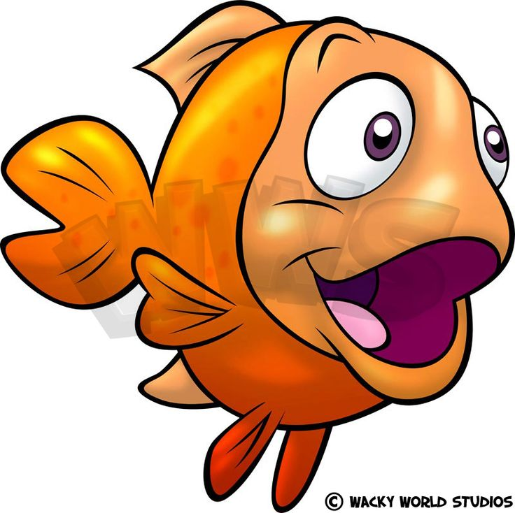 736x734 Goldfish Clipart Baby Fish