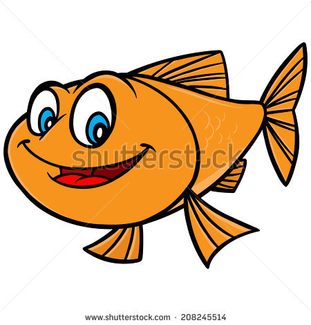 450x470 Goldfish Clipart Cartoon
