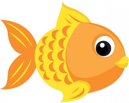 425x340 Best Goldfish Clipart