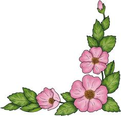 236x226 Corner Decoration With Roses Png Clipart Picture Roses