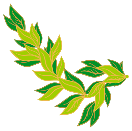262x261 Gold Leaves Cliparts 216507