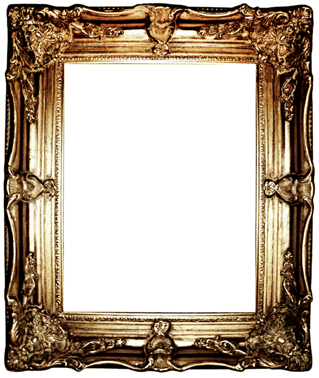 1024x1214 Antique Picture Frame Clipart