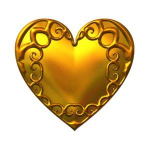 Gold Heart Clipart