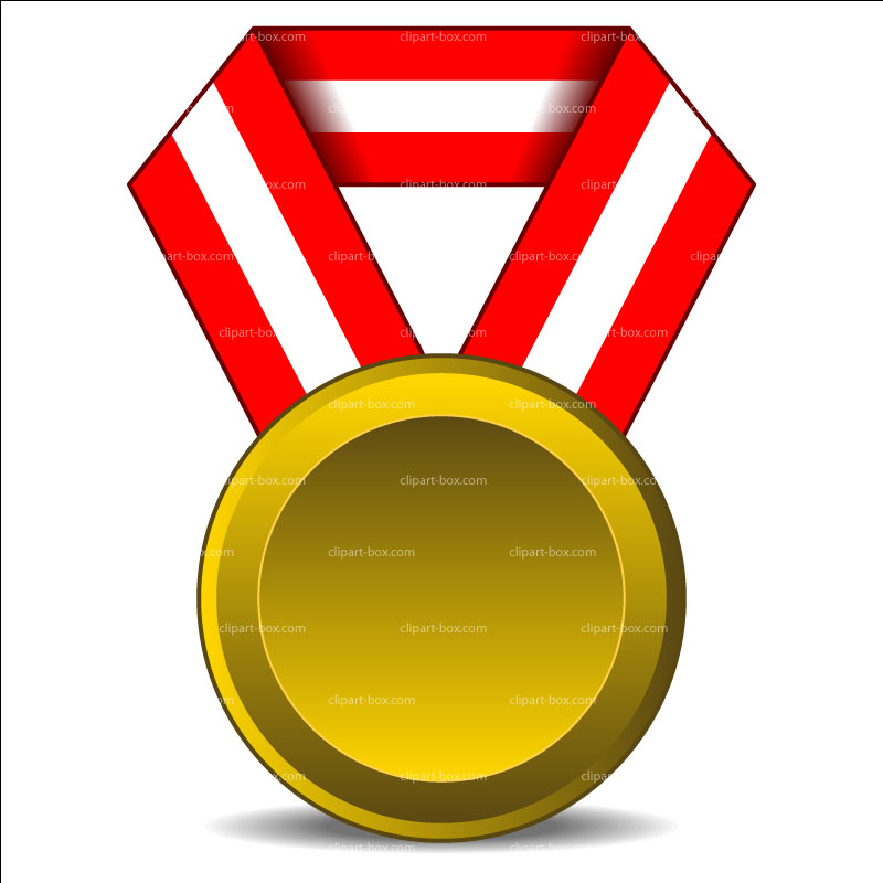 Gold Medal Clipart   Free download on ClipArtMag