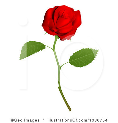 400x420 Red Rose Clipart Real
