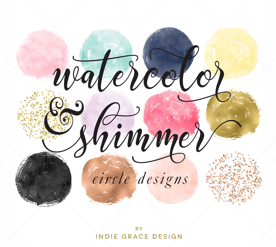 1116x1000 Watercolor Amp Shimmer Circles