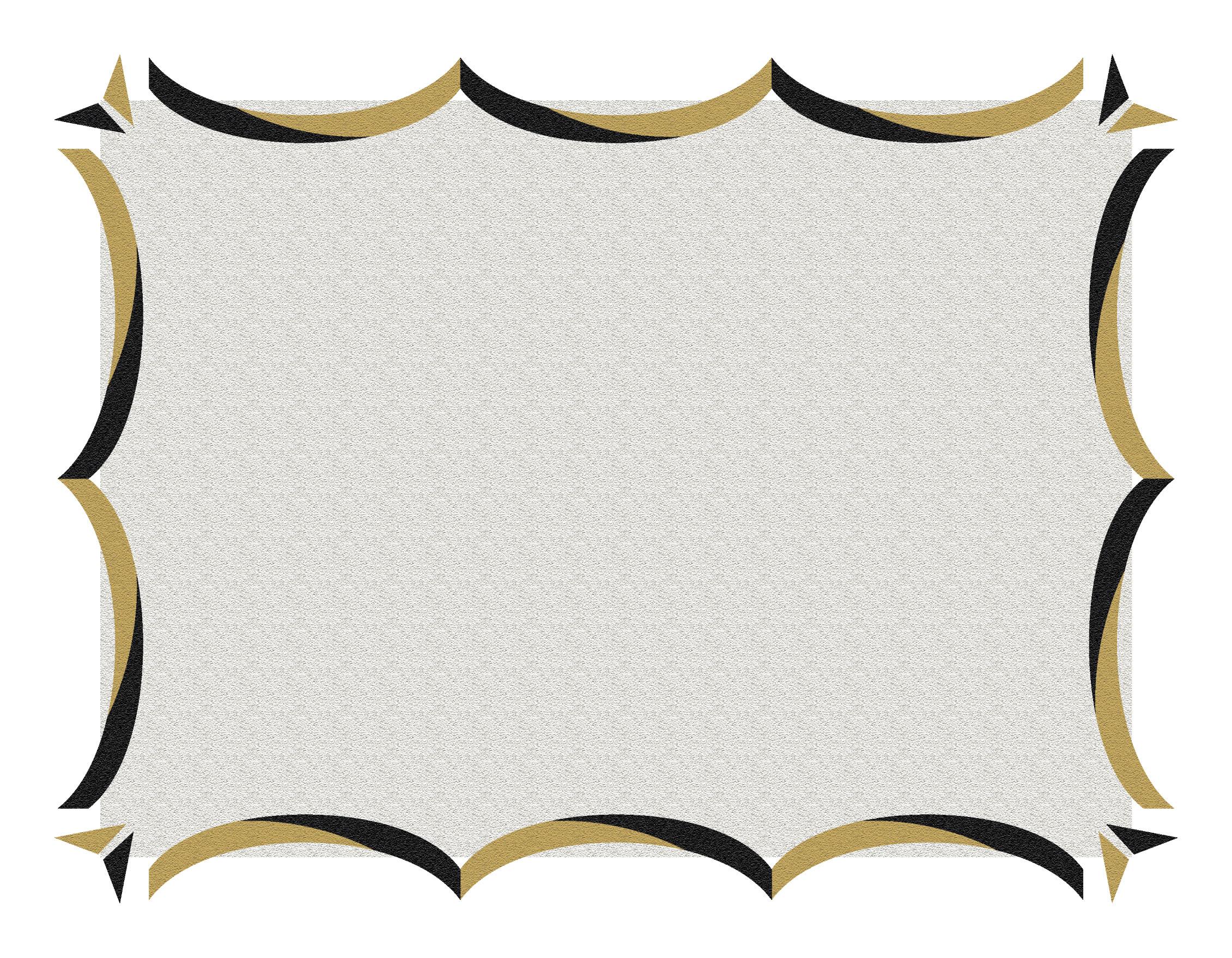 2261x1759 Pink Scroll Border Clip Art