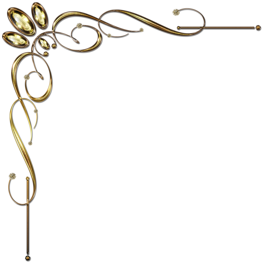 894x894 Scroll Black And Gold Clipart