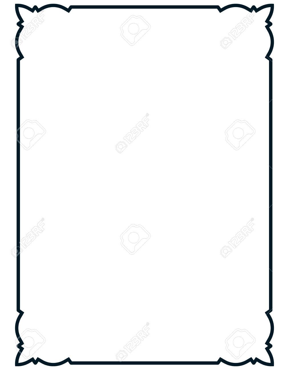 1013x1300 Clip Art Elegant Border Clip Art