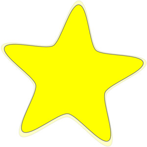 300x300 Free Clipart Star