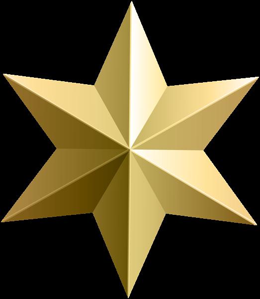 523x600 Gold Star Transparent Png Clip Art Image Christmas Amp Winter