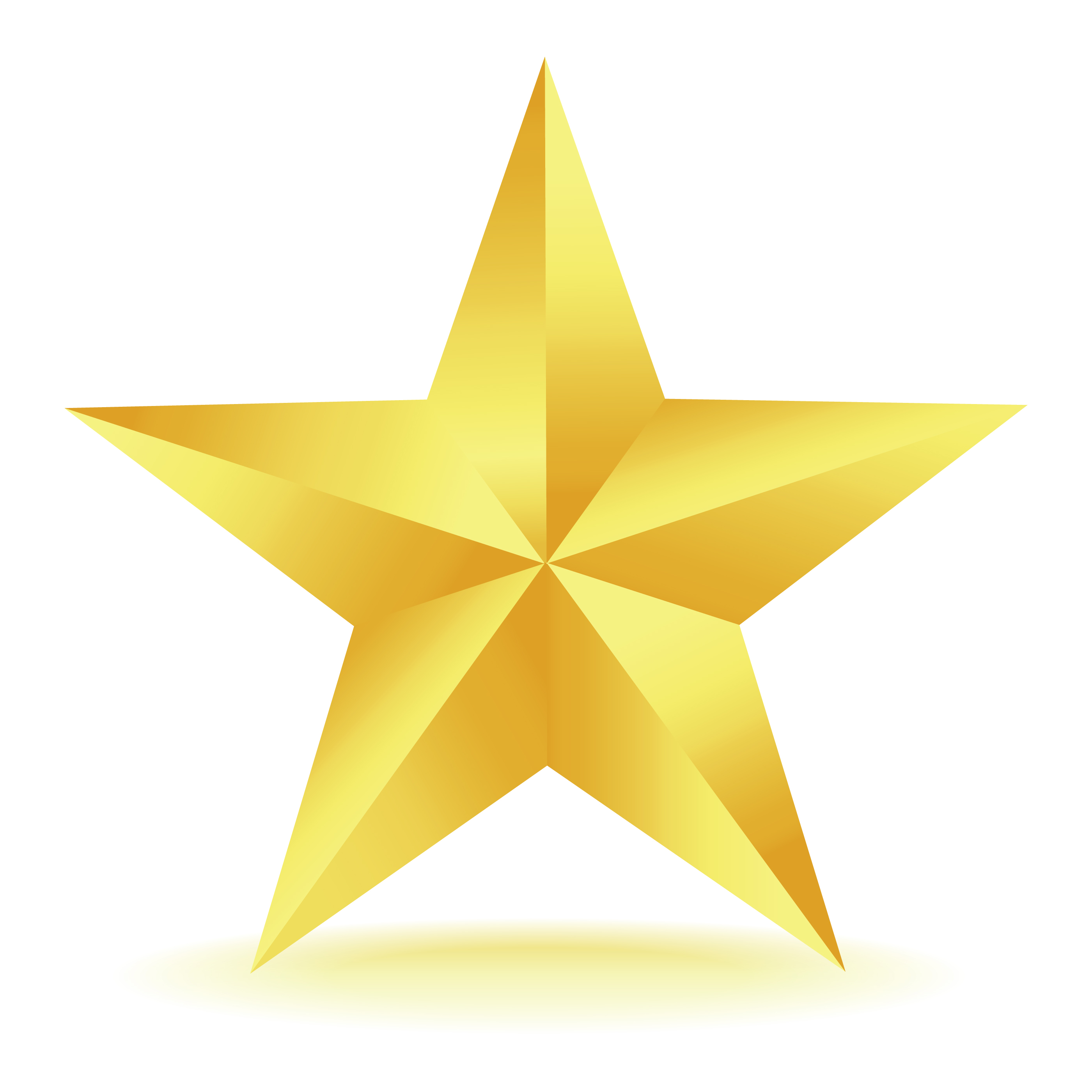 2800x2800 Gold Star Clipart 4
