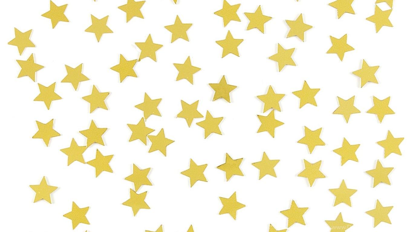 1366x768 Public Domain Stars Long Gold Star Linebars Stars Clip Art Image
