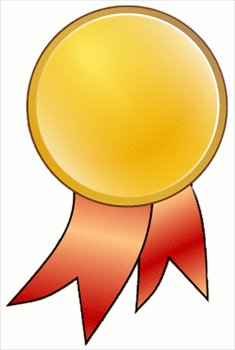 235x350 Free Medal Gold Clipart