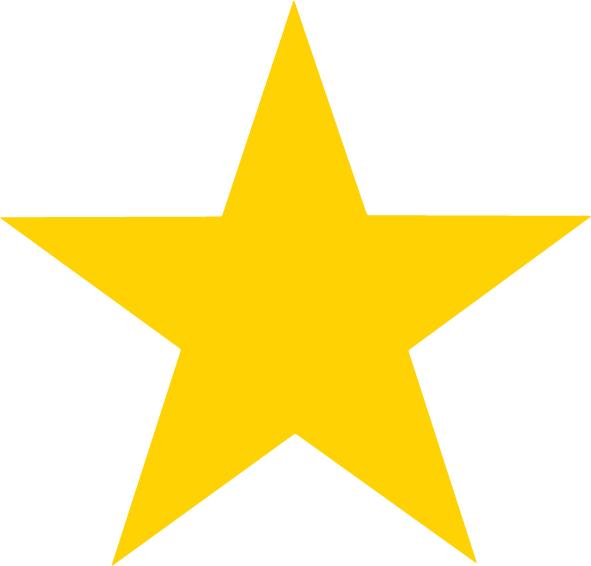 591x566 Gold Star Clipart