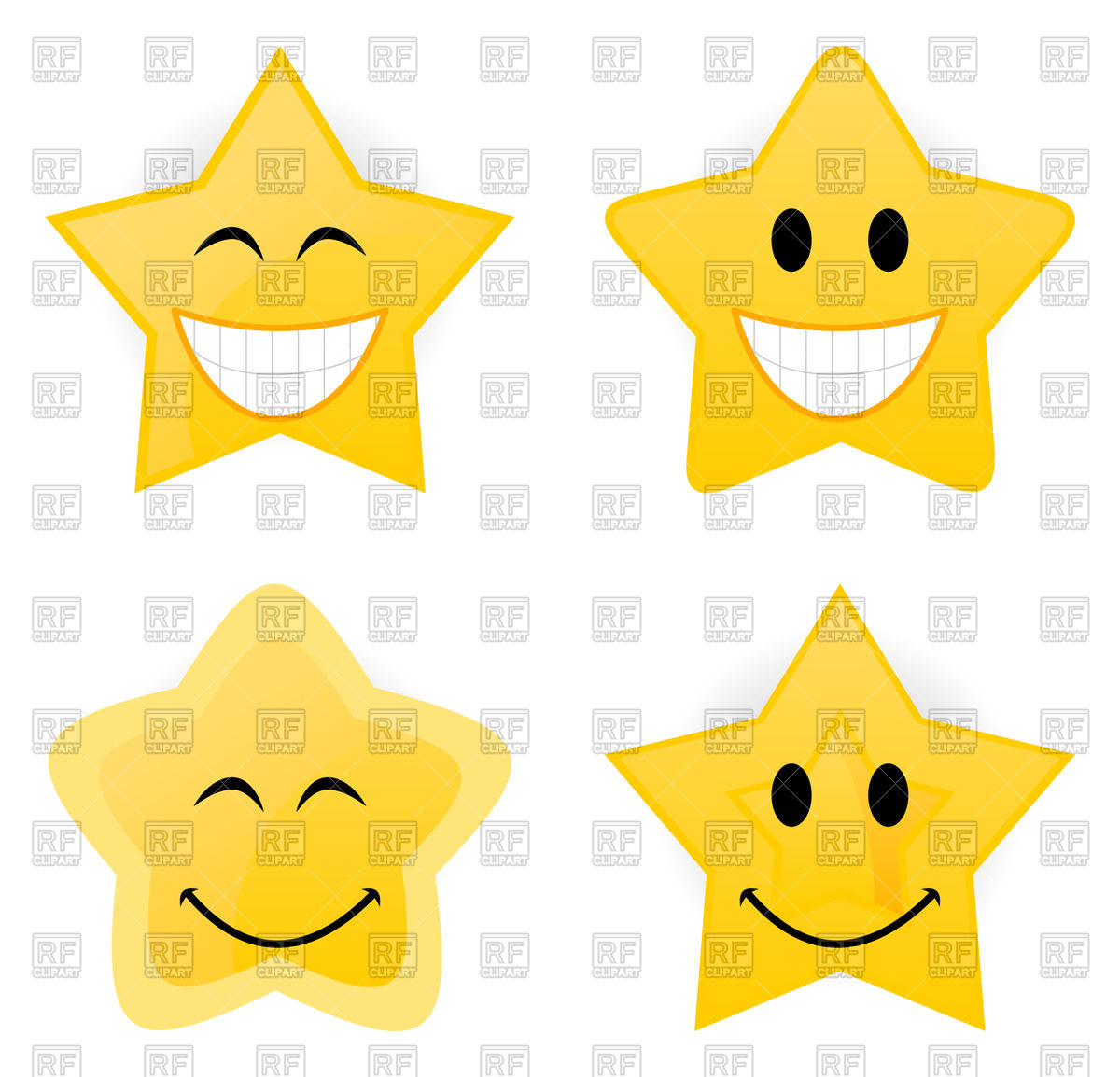 1200x1154 Set Of Gold Stars Icons Royalty Free Vector Clip Art Image