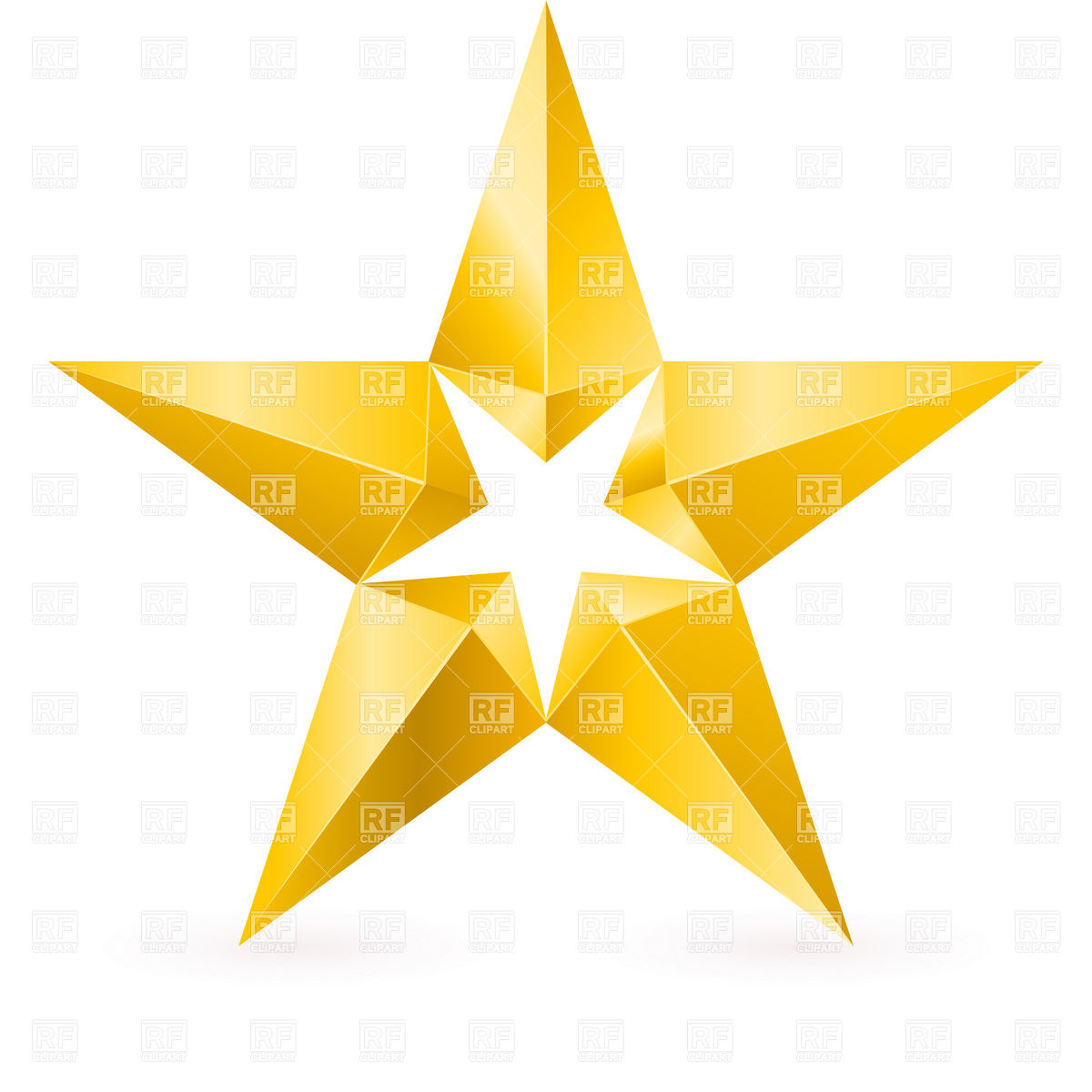 1200x1200 Free Gold Star Clipart
